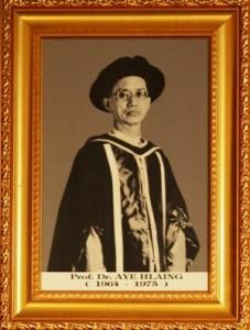 1. Dr. Aye Hlaing