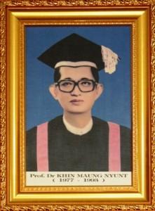 3. Dr. Khin Mg Nyunt